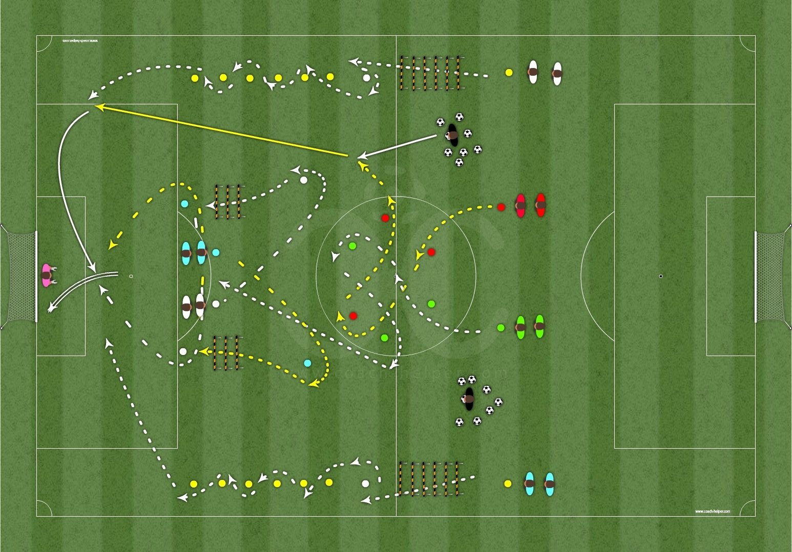 Digital Collection 1 - 100 drills Soccer